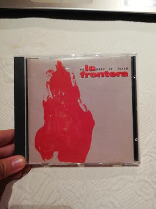 CD La Frontera - Palabras de fuego