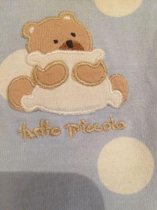 Conjunto bebé (unisex) 1 mes.