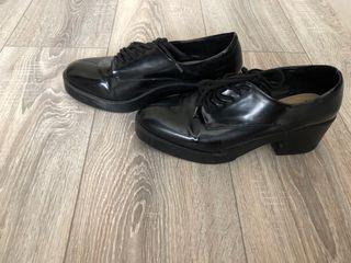 0ec3b56071215 Zapato Zapato Zara Negro Zara OqOr8