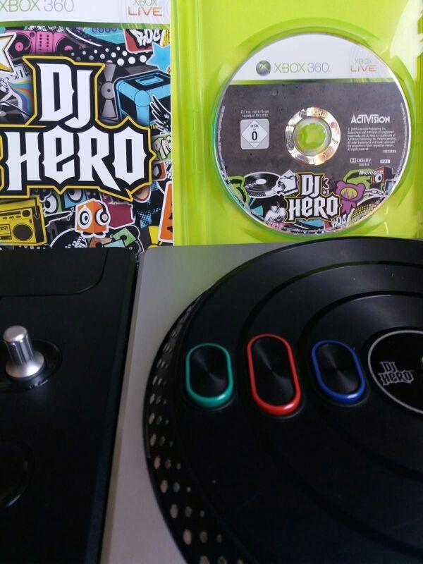 Kit De Juego Dj Hero Y Mesa Xbox 360 De Segunda Mano Por 10 En
