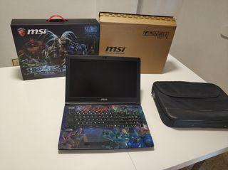 Portatil Gaming MSI GE62 6QD Ed.Heroes i7 16gb ram
