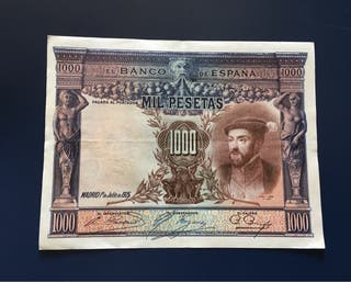 Billete 1000 Pesetas 1925 EBC