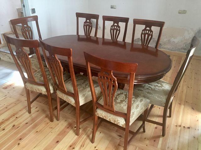 Conjunto mesa y sillas comedor de segunda mano por 250 € en ...