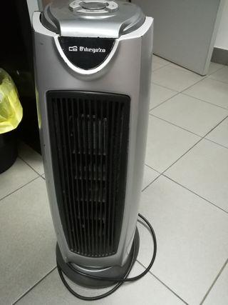 calefactor aire caliente