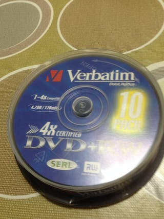 DVD+RWs virgenes