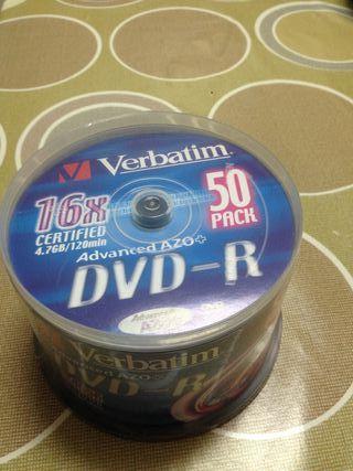 DVDs virgenes