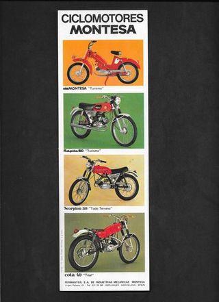 Ciclomotores Montesa