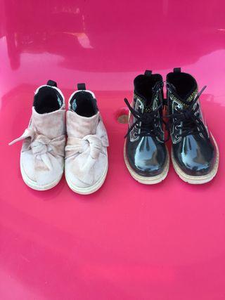 Zapatos / botines niña 2-3 años