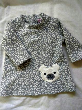vestido bebe 1 a 3 meses