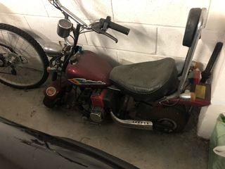 Moto Choper motor para niñ@