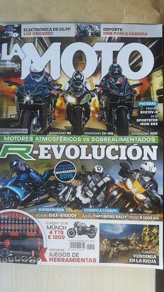 Revista la moto kawasaki ZX 10 R, H2, H2R
