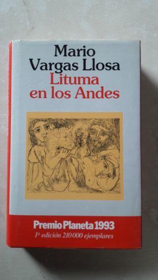 Libro de Mario Vargas Llosa