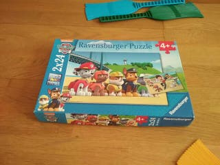 2 puzzles patrulla canina