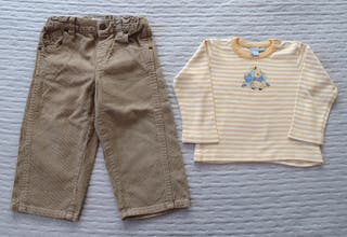 Lote ropa niño talla 12-18 meses