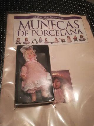 fasciculo 6 muñecas de porcelana 1991
