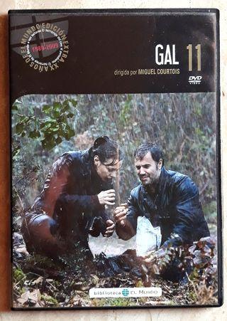 Película GAL en DVD.