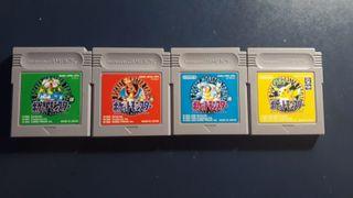Coleccion Pokemon Japones GameBoy