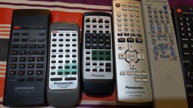 Panasonic Pioneer JVC mando a distancia