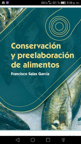 Libro Conservación y preelaboracion de alimentos
