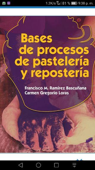 Libro Bases procesos pastelería y repostería