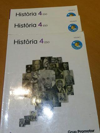 Libros Història 4° ESO