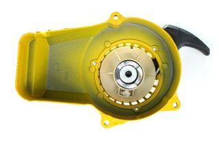 Tirador metálico Amarillo Minimoto/Mini Quad