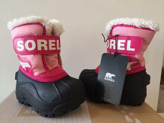 BOTAS SNOW SOREL TALLA 21