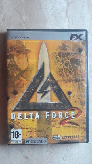 Juego Delta Force 2.