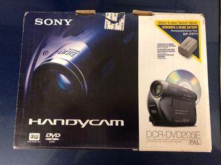 Camara vídeo SONY HANDYCAM DCR-DVD205E