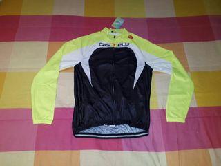 maillots manga larga ciclismo