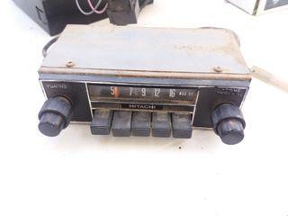 radio antigua de coche
