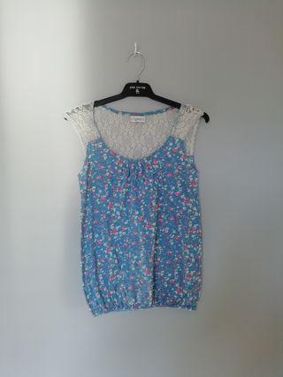camiseta pull&bear talla m