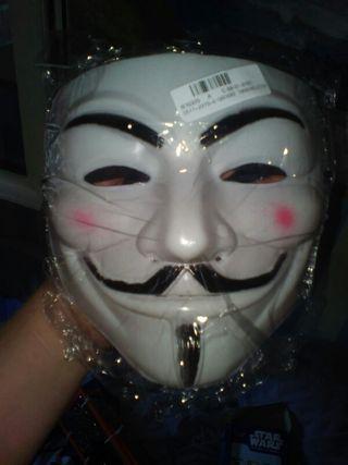 Máscara Anonymous nueva