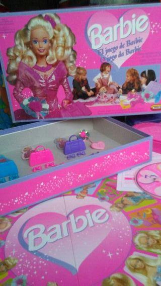 Juego de Barbie 1995