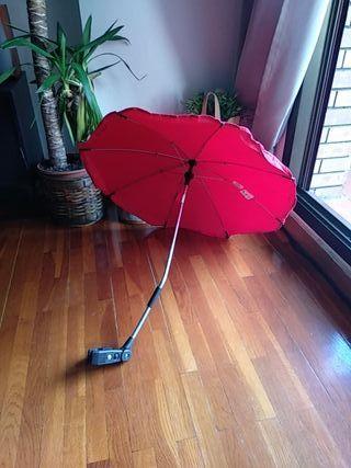 parasol o sombrilla para carro bebé