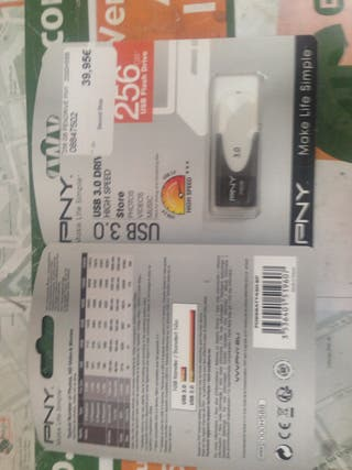 Pendrive USB 3 de 256 Gb PNY