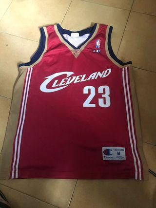 Camiseta cleveland NBA 23