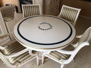 Mesa con 6 sillas salon comedor