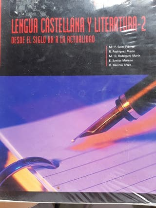 libro de lengua castellana y literatura 2 bachille