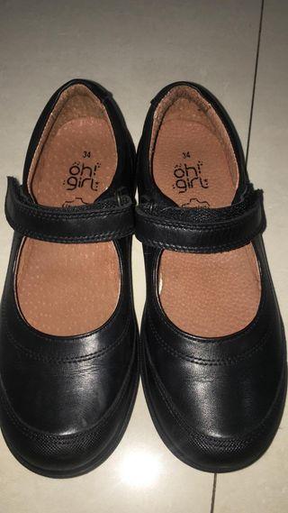 Zapato escolar niña número 34