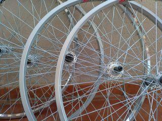 Lote de 7 llantas ruedas de bicicleta