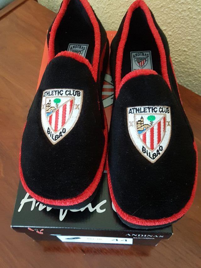 Zapatillas casa nuevas. Athletic de Bilbao T44 de segunda mano por ... 557712c1ad22d