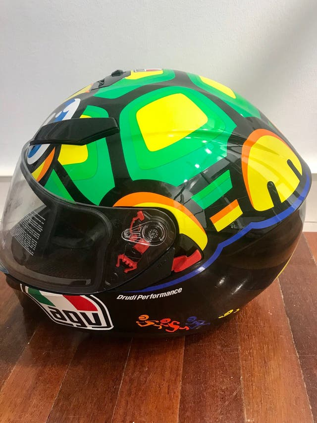 Casco moto Valentino Rossi