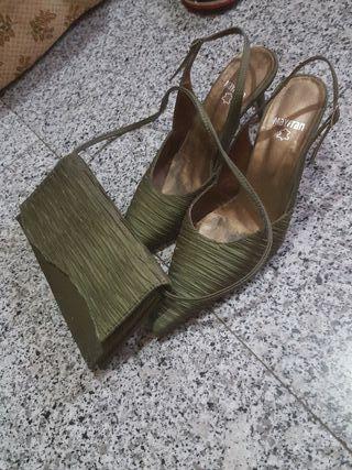 zapato y bloso mujer