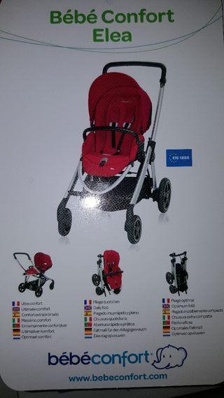 Cochesito de Paseo Bébé Confort Elea (3 en 1: Sill