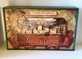 Preciosa caja madera vintage