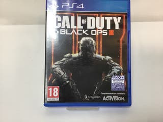 Juego CALL OF DUTTY BLACK OPS III PS4
