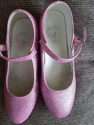 zapatos disfraz niña