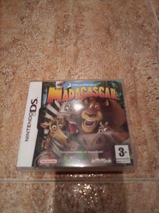Juego Madagascar nintendo ds