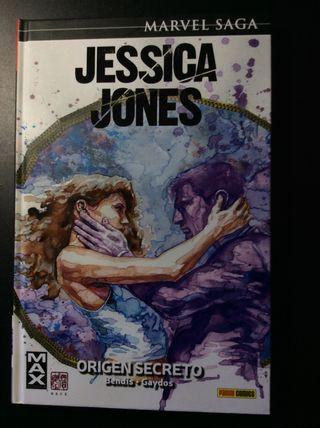 JESSICA JONES v. 4 ORIGEN SECRETO MARVEL SAGA MAX